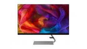 "Lenovo Q27q-10 27"" QHD IPS (2560x1440) Monitor, 178/178, 4ms, 300cd/m2, 3M:1, 3W X 2 Speaker, 109 dpi, AMD FreeSync, Anti-glare, VESA Mount, HDMI, DP, Bronze (3 years warranty)"