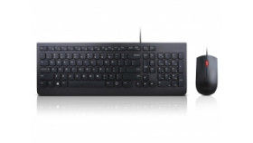 LENOVO Essential wired combo keyboard and mouse BG (P)