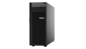 """Lenovo ThinkSystem ST250 Xeon E-2124 (4C 3.3 GHz 8MB Cache/71W), 1x16GB, O/B, 2.5"""" HS (8), SW RAID, HS 550W, XCC Standard, DVD-RW, 3 year warranty"""