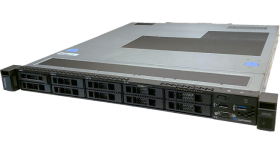 "Lenovo ThinkSystem SR250 Xeon E-2146G (6C 3.5GHz 12MB Cache/80W), 1x16GB, OB, 2.5"" HS (8), SW RAID, HS 450W, XCC Standard, Rails"