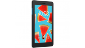 "Lenovo Tab E7 WiFi BT4.0, MT8167 1.3GHz QuadCore, 7"" 1024 x 600, 1GB DDR3, 8GB flash, 2MP cam + 0.3MP front, MicroSD up to 128GB, MicroUSB, Android 8.1 Oreo, Black"