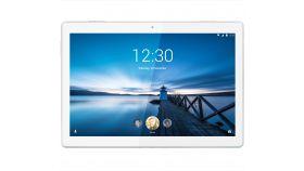 "Lenovo Tab M10 4G WiFi GPS BT4.2, Qualcomm 1.8GHz OctaCore, 10.1"" IPS 1920x1200, 3GB DDR3, 32GB flash, 5MP cam + 2MP front, Nano SIM, MicroSD up to 256GB, USB-C, dedicated docking/charging port, Android 9 Pie, Dolby Atmos, Polar White"