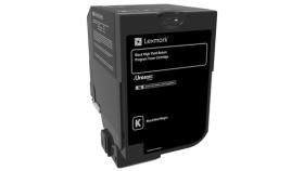 Black Standard Yield Toner Cartridge,7,000 pages,CS720de / CS720dte / CS725de / CS725dte / CX725de / CX725dhe / CX725dthe, Return Programme