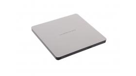 Външно DVD записващо устройство Slim, LG GP60NW60, USB 2.0, сребристо