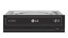 Оптично устройство LG Internal DVD-W Black Bare Drive