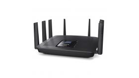Linksys EA9500 :: Max-Stream™ AC5400 Tri-Band Wireless Router, с Roaming функция, 8x Gigabit switch, 2.4+5.0+5.0 GHz, USB 3.0 + USB 2.0, MU-MIMO