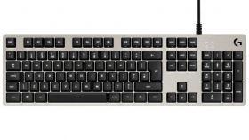 Геймърска механична клавиатура Logitech, G413 Silver, Romer-G суичове