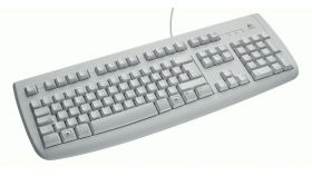 Клавиатура Logitech Deluxe 250, White, BG, USB