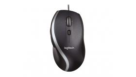 Жична лазерна мишка LOGITECH M500, Черен, USB