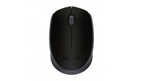 Безжична оптична мишка LOGITECH M171, Черна, USB