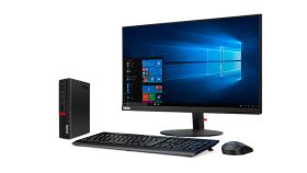 LENOVO TC M720q Intel Core i5-9400T 8GB 256GB SSD Wifi VESA kbd mouse Win 10 Pro 3Y