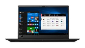 "Mobile workstation Lenovo ThinkPad P1,Intel Xeon E-2176M (2.7GHz up to 4.4GHz,6C,12MB)vPro,32(2x16)GB DDR4 ECC,1TB SSD M.2 PCIe NVMe,15.6"" 4K(3840x2160) IPS AR Touch,Quadro P2000 4GB,CR,Smart CR,dTPM 2.0,Wireless AC 2x2,BT 5.0,FPR,1Gb Ethernet,USB Ty"