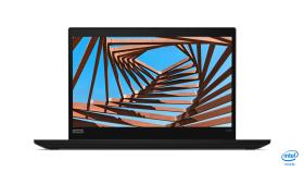 "Notebook Lenovo ThinkPad X390,Black,Intel Core i5-8265U(1.6GHz up to 3.9GHz ,6MB),8GB DDR4,512GB SSD NVMe,13.3""FHD(1920x1080) IPS Anti-glare 300nits,Intel UHD 620,dTPM 2.0,Smart CR,Wireless AC,BT5.0,FPR,backlit kbd,1Gb Ethernet,USB-C,HDMI,Camera,6cel"