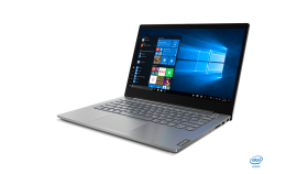 "Notebook Lenovo ThinkBook 14,Mineral Grey, Intel Core i5-1035G1(1.0GHz up to 3.6GHz,6MB),8GB DDR4,256GB SSD M.2 PCIe NVMe,14""FHD(1920x1080) IPS antiglare,Int,Wireless AC,BT5.0,FPR,TPM2,4-in-1 CR,720p camera,USB-C,anti-spill backlit keyboard,3cell,Win"