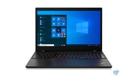 "Notebook Lenovo ThinkPad L15,Black,Intel Core i5-10210U(1.6GHz up to 4.2GHz,6MB),8GB DDR4,256GB SSD NVMe,15.6""FHD(1920x1080) IPS Anti-glare,Intel UHD,dTPM 2.0,Wireless AX,BT,FPR,Smart CR,backlit kbd,1Gb Ethernet,USB-C,HDMI,720p+IR,dock connector,3cel"