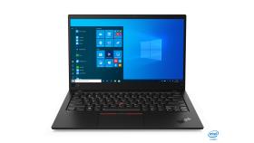 """Ultrabook Lenovo ThinkPad X1 Carbon (8th Gen),Intel Core i7-10510U(1.8GHz up to 4.9GHz,8MB),16GB LPDDR3,512GB SSD PCIe NVMe,14"""" FHD(1920x1080) IPS antiglare 400nits,Intel UHD,LTE,Wireless AX,USB-C 3.2,HDMI,FPR,BT,LIT keyboard,IR+720p,ext.adapter,NFC,"""