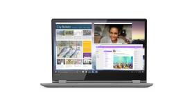 "PROMO Lenovo Yoga 530 14"" FullHD IPS Antiglare Touch i3-8130U 2.2GHz, 4GB DDR4, 256GB SSD m.2 PCIe, Backlit KBD, Fingerprint Reader, USB-C, HDMI, WiFi, BT, HD cam, Onyx Black, Win 10 + Active Pen"