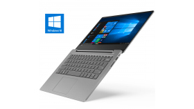 "(Back to School) Lenovo IdeaPad UltraSlim 330s 14.0"" IPS FullHD Antiglare i3-7020U 2.3GHz, 4GB DDR4, 128GB m.2 SSD, Backlit KBD, USB-C, HDMI, WiFi, BT, HD cam, Platinum Grey, Win 10"