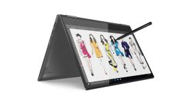 Lenovo Yoga 730 15.6 FullHD IPS Antiglare Touch i7-8565U up to 4.6GHz Quad Core, GTX 1050 4GB, 8GB DDR4 + free slot, 512GB SSD m.2 PCIe, Backlit KBD, Fingerprint Reader, TPM 2.0, USB-C/Thunderbolt, HDMI, 720p cam, up to 11 hours battery, full-alumini