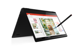 "Lenovo Yoga C340 14"" FullHD IPS Touch Ryzen 5 3500U up to 3.7GHz Quad Core, Radeon Vega 8, 8GB DDR4, 256GB SSD m.2 PCIe, Backlit KBD, Fingerprint Reader, TPM 2.0, USB-C, HDMI, 720p cam with shutter, Onyx Black, Win 10 + Active Pen"