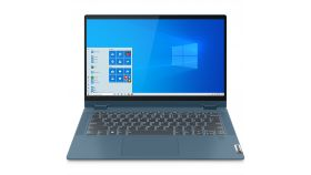 "Lenovo Flex 5 14"" FullHD IPS Touch Ryzen 3 4300U up to 3.7GHz QuadCore, 8GB DDR4 onboard, 512GB SSD m.2 PCIe, Backlit KBD, Fingerprint Reader, USB-C, HDMI, 720p cam with shutter, Light Teal, Win 10 + Pen"