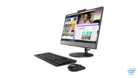 "PC Lenovo AIO V530 Black,21.5""FHD(1920x1080) IPS,Intel Core i3-9100T 3.1/3.7GHz 6MB,8GB DDR4 260-pin,1TB,Int,Camera,CR 3-in-1,DVDRW,WIFI AC,BT,kbd+mouse,DOS,1 year"