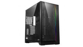 Кутия Lian Li PC-O11 Dynamic XL ROG Certified Mid-Tower, Tempered Glass, Сив