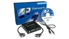 Външна видеокарта  за едновременна работа на  2 монитора  с DP вход- MATROX-D2G-DPD2-IF