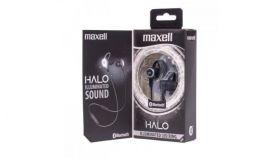 Блутут слушалки-тапи MAXELL HALO SPORT, True Wireless, Bluetooth 5.0, Черни