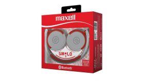 Слушалки блутут  MAXELL със средно големи наушници  BT400  червени