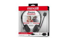 Слушалки с микрофон средно големи наушници  HS-HMIC  USB  MAXELL