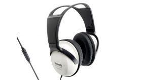 Слушалки с микрофон MAXELL Studio Series ST2000, големи наушници, Бял