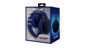 Слушалки с микрофон  MAXELL B52 черно и синьо