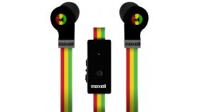 Слушалки с микрофон MAXELL FLAT WIRE, In-Ear, RASTA