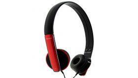 Слушалки с микрофон HP-MIC RED /червени/ MAXELL