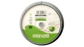 DVD+R DL MAXELL, 8.5 GB, 8x, Printable, 25 бр.