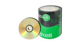 DVD-R MAXELL, 4,7 GB, 16x, 100 бр.