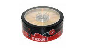 DVD-R MAXELL, 4,7 GB, 16x, 25 бр.
