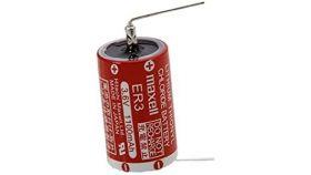 Литиево тионилхлоридна батерия 3,6V 1/2AA ER3 MAXELL /T1/терминал1/