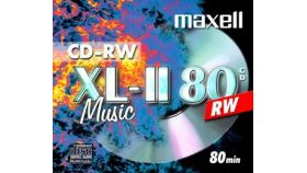 CD-RW 80 мин. for MUSIC 1PK jewell case MAXELL
