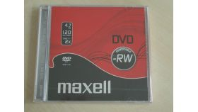 DVD-RW 4.7Gb 1бр. slim case MAXELL