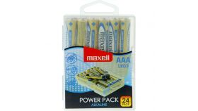 Алкални батерии LR03 1,5V AAA 24 бр. блистер PVC case MAXELL