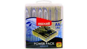 Алкални батерии LR6 1,5V AA 24 бр. блистер PVC case MAXELL