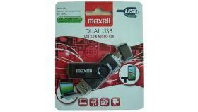 Флаш памет DUAL /USB & Micro USB OTG/ 32GB  MAXELL