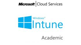 MICROSOFT Intune Open Shared Server, Academic, Volume License Subscription (VLS), Cloud, Single Language Language, Multiple, 1 year