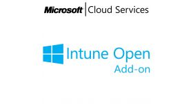MICROSOFT Intune Open Add-On, , Any, Volume License Subscription (VLS), Cloud, Single Language Language, 1 user, 1 year