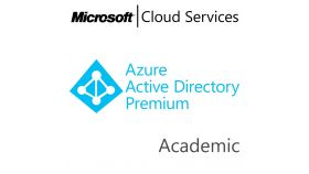 MICROSOFT Azure Active Directory Premium, , Academic, Volume License Subscription (VLS), Cloud, Single Language Language, 1 user, 1 year