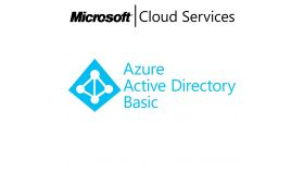 MICROSOFT Azure Active Directory Basic, , Any, Volume License Subscription (VLS), Cloud, Single Language Language, 1 user, 1 year