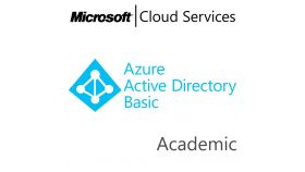 MICROSOFT Azure Active Directory Basic, , Academic, Volume License Subscription (VLS), Cloud, Single Language Language, 1 user, 1 year