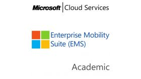 MICROSOFT Enterprise Mobility Suite, , Academic, Volume License Subscription (VLS), Cloud, Single Language Language, 1 user, 1 year